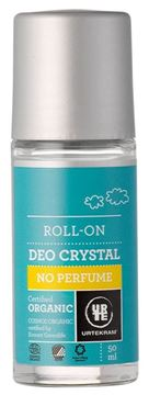 Picture of Deo Roll On Crystal No Perfume, Urtekram, 50ml