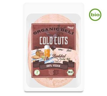 Picture of Deli Cold Cuts Rustikal, BIO, Vantastic Foods, 100g