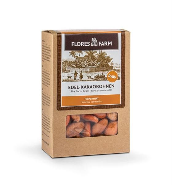 Picture of Edel-Kakaobohnen, Flores Farm, 90g