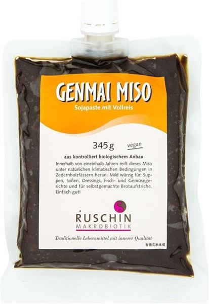 Picture of Genmai Miso, Ruschin, 345g