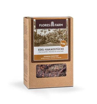 Picture of Edel-Kakaostücke, Flores Farm, 100g