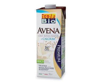 Picture of Hafer Drink + Calcium, Isola Bio, 1l