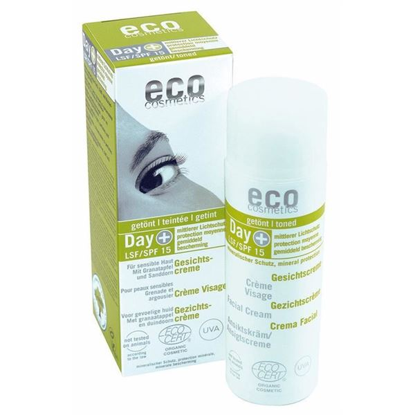 Picture of Gesichtscreme LSF15 getönt, Eco Cosmetics, 50ml