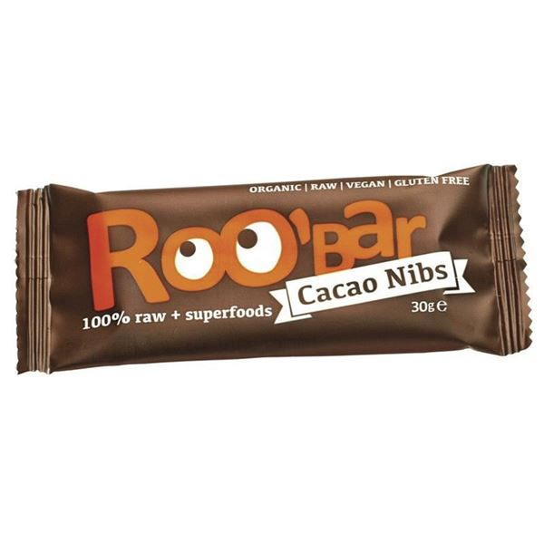 Picture of Cacao Nibs & Mandeln, Roo`bar, 30g