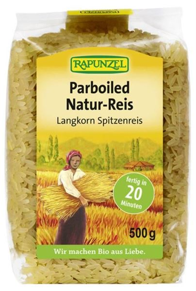Picture of Parboiled Natur-Reis, Rapunzel, 500g