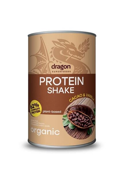 Picture of Protein Shake Cacao&Vanille, Dragon Superfoods, 450g