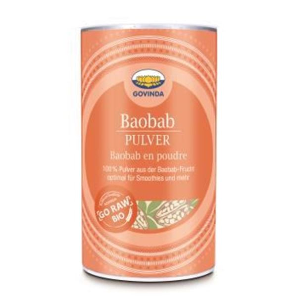 Picture of Baobabpulver, Govinda, 200g