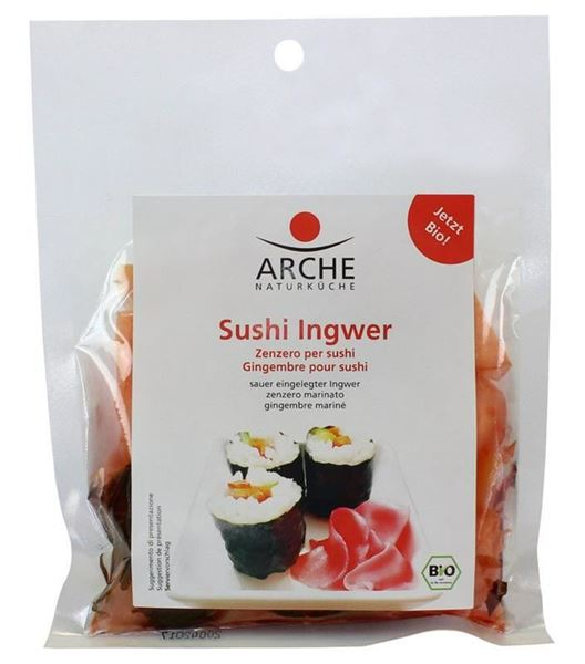 Picture of Sushi Ingwer BIO, Arche, 50g