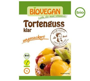 Picture of Tortenguss klar, Biovegan, 2x6g