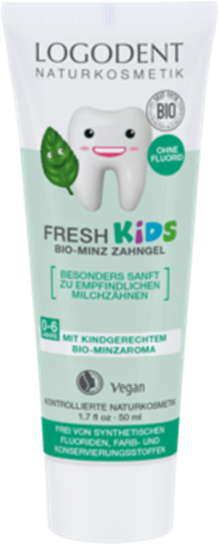 Picture of Fresh Kids Bio-Minz Zahngel, Logodent, 50ml