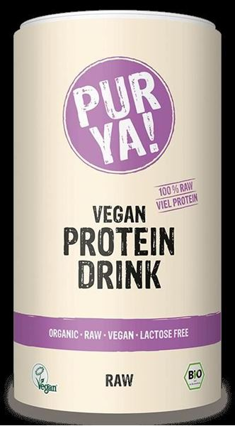 Picture of Vegan Protein Drink RAW, Pur Ya!, 550g
