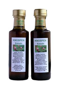 Picture of Knospengold Extrakt, Kräuter Lötsch, 100ml