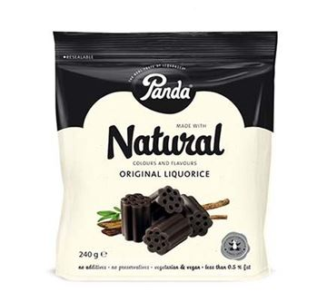 Picture of Panda Natural Cuts Lakritz, Panda, 240g