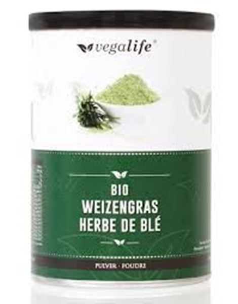 Picture of Weizengrass Pulver, Vegalife, 125g