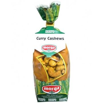 Picture of Curry Cashews, Morga, 200g