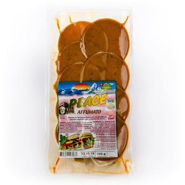 Picture of Peace Aufschnitt Affumato, Soyana, 100g