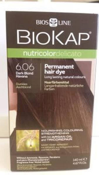 Picture of Nutricolor, Dunkles Aschblond, 6.06, Biokap, 140ml