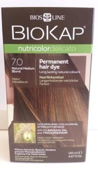 Picture of Nutricolor, Natur-Mittelblond, 7.0, Biokap, 140ml