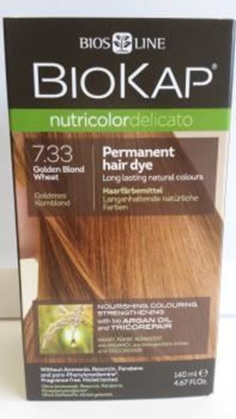 Picture of Nutricolor, Goldenes Kornblond, 7.33, Biokap, 140ml