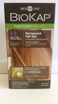 Picture of Nutricolor, Extra Helles Gold Blond, 9.3, Biokap, 140ml