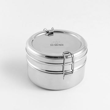 Picture of Tiffin Double Lunchbox, Eco Brotbox, 1Stk.