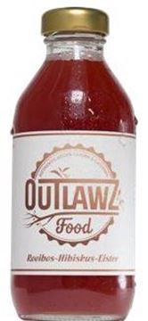 Picture of Rooibos-Hibiskus-Eistee, Outlawz food, 330ml