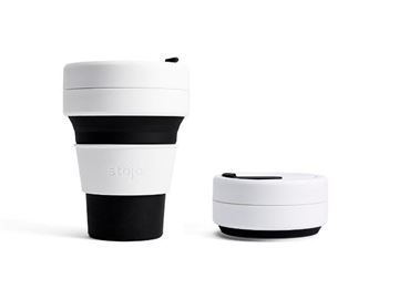 Picture of Collapsible Cup Black, Stojo, 3.5dl