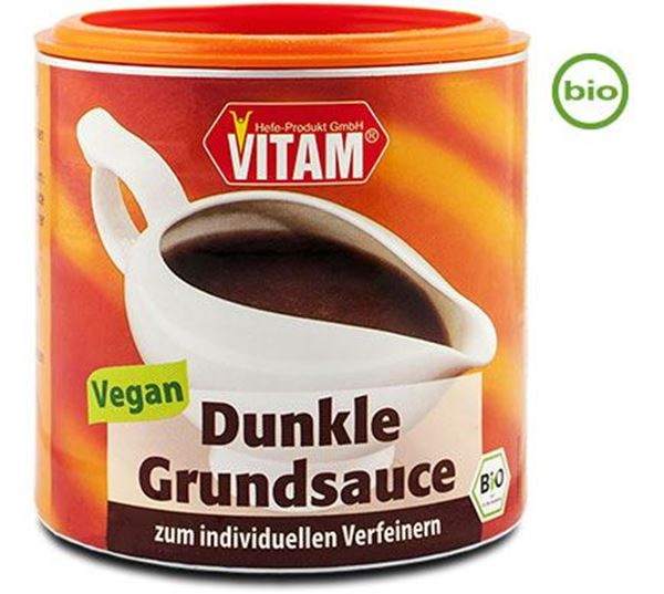 Picture of Dunkle Sauce, Vitam, 125g