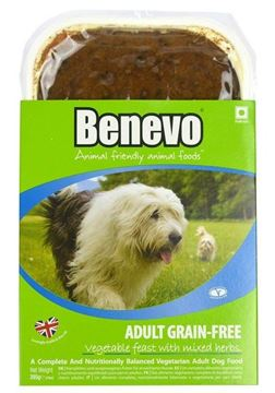 Bild von ADULT GRAIN-FREE VEGETABLE FEAST, Benevo, 395g