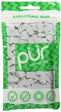 Picture of Spearmint Kaugummi, Pür Gum, 77g