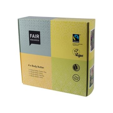 Bild von  Body Butter Set, Fair Squared, 4x50ml