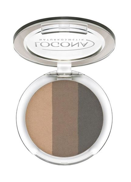 Picture of Eyeshadow Trio 02 cashmere, Logona, 4g