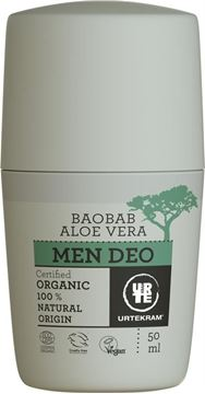 Bild von Men Baobab Deo Roll-on, Urtekram, 50ml