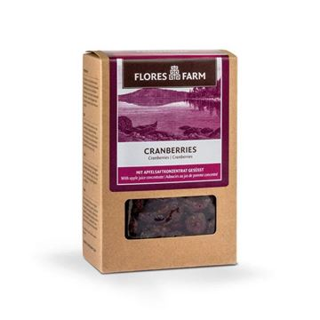 Picture of Cranberries, Flores Farm, 100g