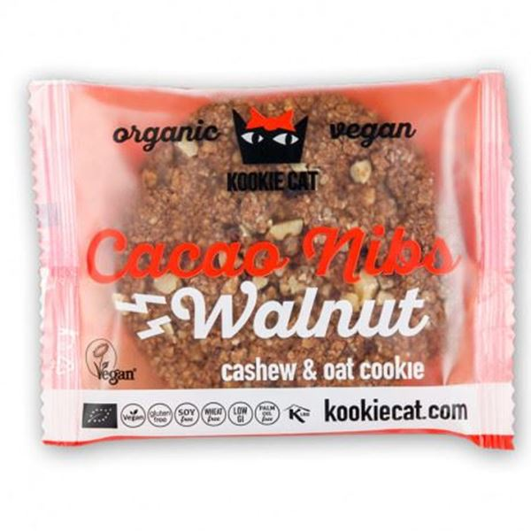 Picture of Cacao Nibs Walnut, Kookie Cat, 50g