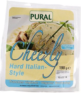 Picture of Vegi Cheezly Hard Italian Style, Pural, 190g