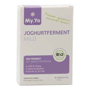 Picture of Joghurtferment mild, My.Yo, 3x5g