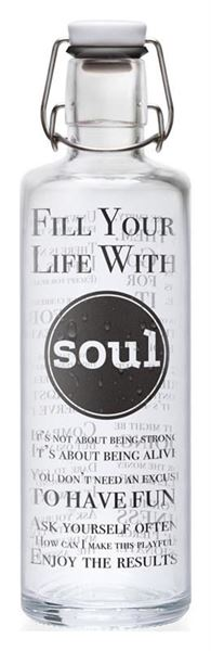 Picture of Flasche Fill your Life with soul, Soulbottles, 1l