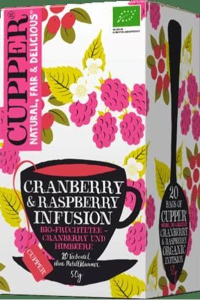 Picture of Cranberry&Rasperry Infusion, Cupper, 20Btl