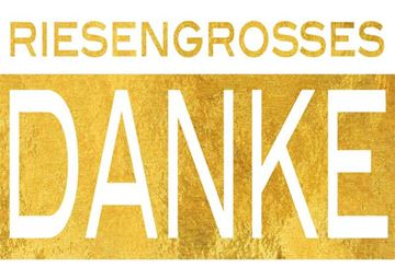 Picture of Riesengrosses Danke, 1Stk.