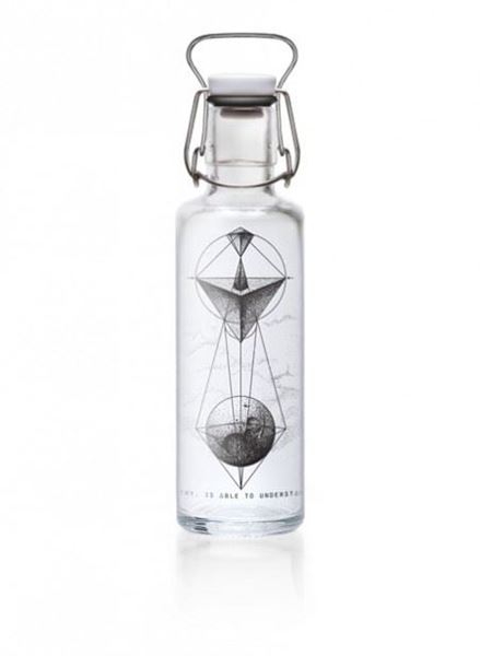 Picture of Flasche Whoever understands Geometry