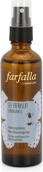 Picture of Sei erfrischt - Lemongrass Raumspray, Farfalla, 75ml