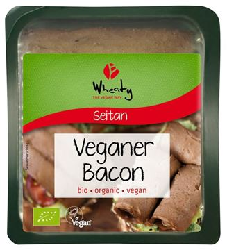 Bild von Vegane Alternative  zu Bacon, Wheaty, 60g