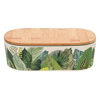 Picture of Lunchbox Deluxe Exotic Leaves, Bamboofriends, 900ml