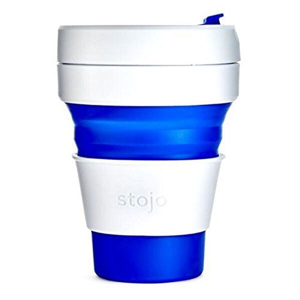 Picture of Collapsible Cup Blue, Stojo, 3.5dl