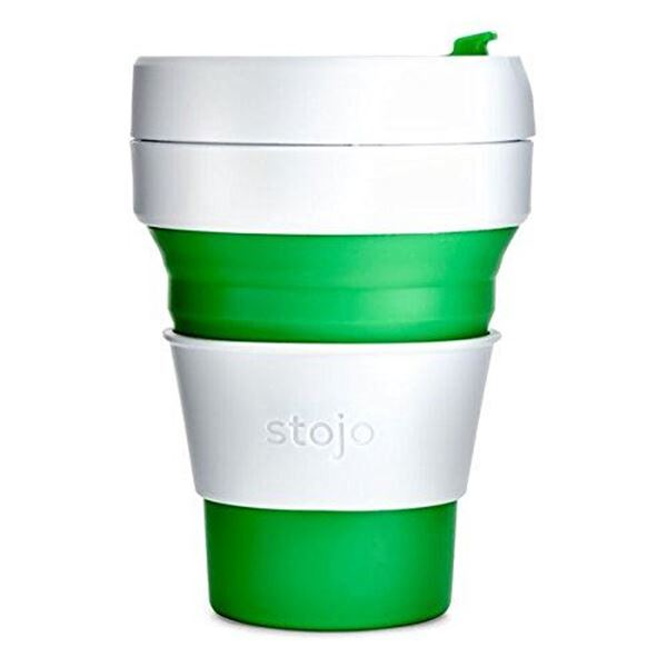 Picture of Collapsible Cup Green, Stojo, 3.5dl