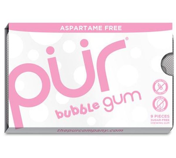 Picture of Bubblegum Kaugummi, Pür Gum, 12.6g