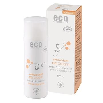 Picture of CC Creme OPC LSF30 getönt hell, Eco Cosmetics, 50ml