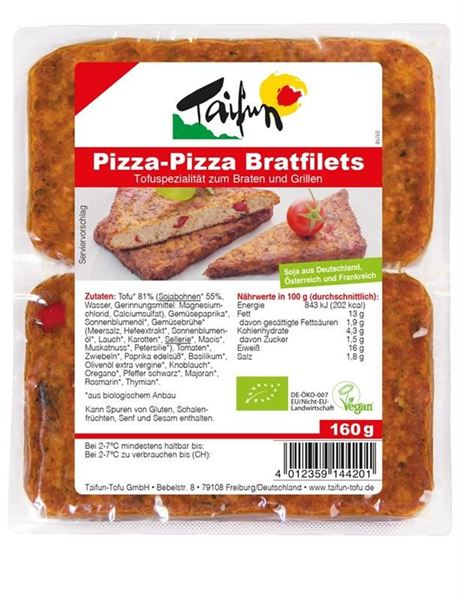 Picture of Bratfilets Pizza-Pizza, Taifun, 2x80g
