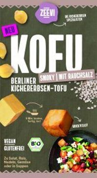 Picture of Kofu Kichererbsen-Tofu Smoky, Zeevi, 200g